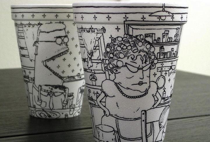 Un vaso, un café, una ilustración (2/6)