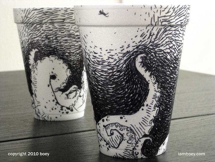 Un vaso, un café, una ilustración (3/6)