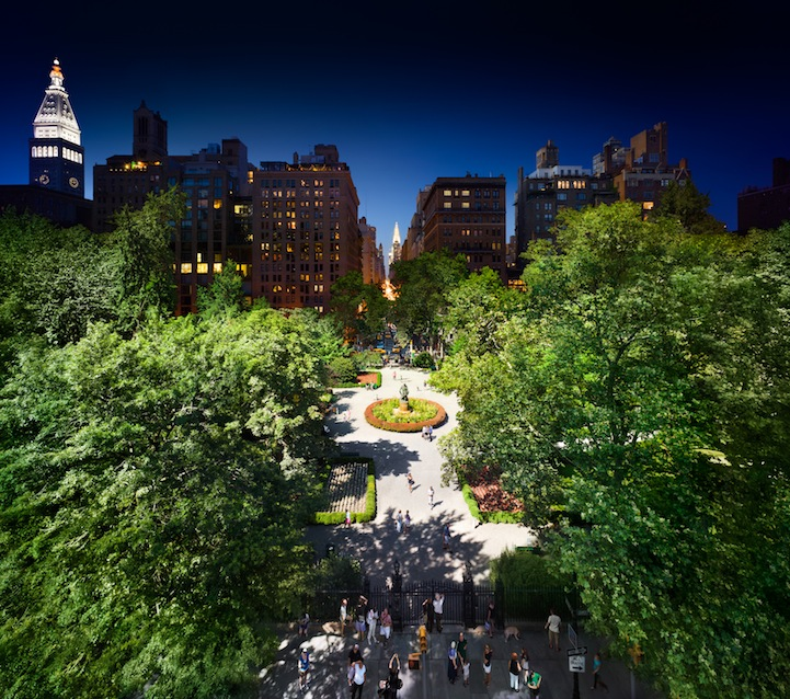 Gramercy Park, Day to Night ™