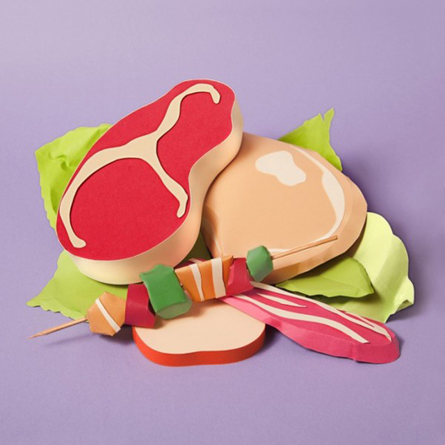 Paper-Craft-Sculptures-Of-Food-4
