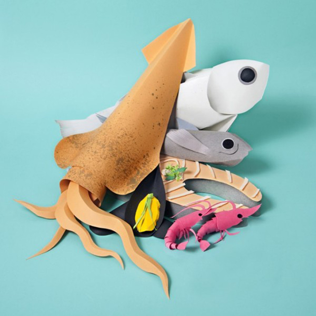 Paper-Craft-Sculptures-Of-Food-5
